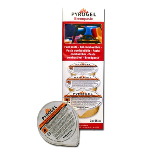 Fondue Fuel Gel Fuel, Pack Of 3