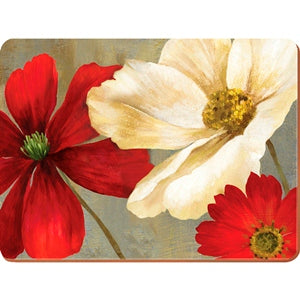 Flower Study Placemats, Set Of 6