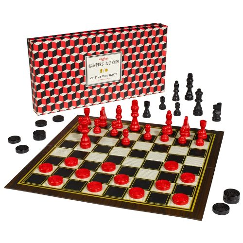 Ridley's Games Room 'Chess & Checkers' Board Game