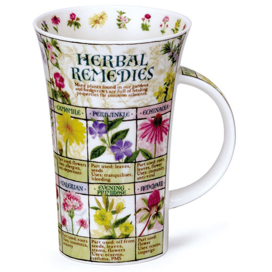 Dunoon Glencoe Fine Bone China Mug, Herbal Remedies