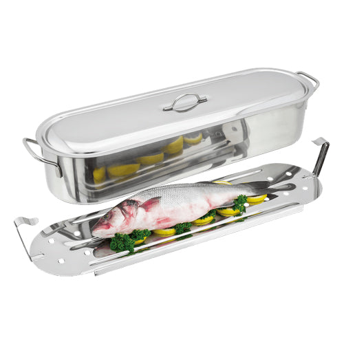 JUDGE SPECIALITY COOKWARE Fish Poacher, 60cm