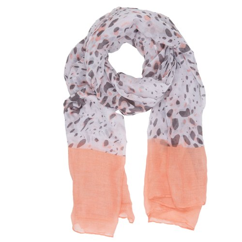 Dafne Scarf, 90cm x 180cm, Orange