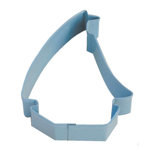 Blue Sailboat Cookie Cutter, 9cm