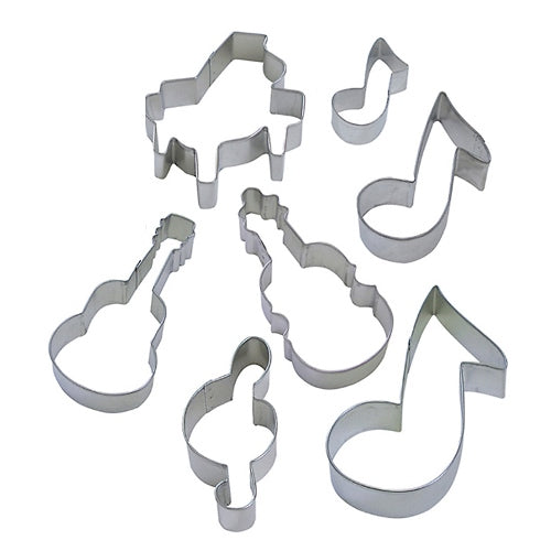 Cookie Cutter Set, Musical Instruments