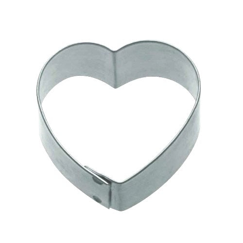 Kitchencraft Heart Shaped Metal Cookie Cutter, 5cm