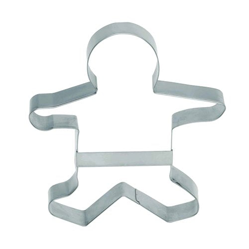 Large Gingerbread Man Cookie Cutter, 16cm
