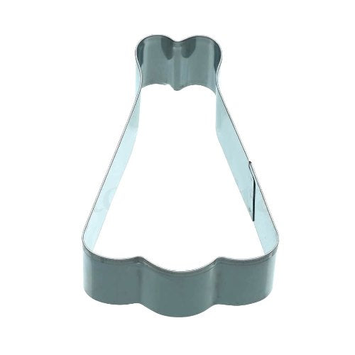 Dress Shaped Cookie Cutter, 9cm