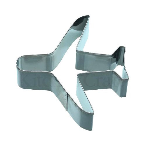Aeroplane Shaped Cookie Cutter, 9cm