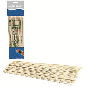 Bamboo Skewers, 30cm, Pack of 100