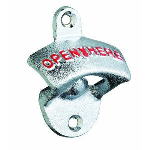 Lock In Wall Mounted Crown Top Bottle Opener