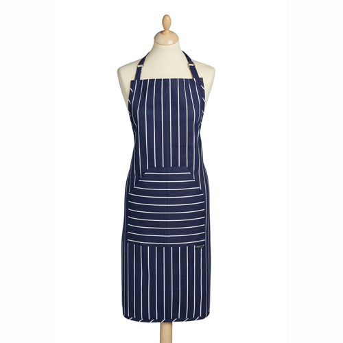 Butcher's Stripe Apron, Blue
