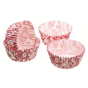 Sweetly Does It Pink Floral Cupcake Cases, 5cm, 60 Cases