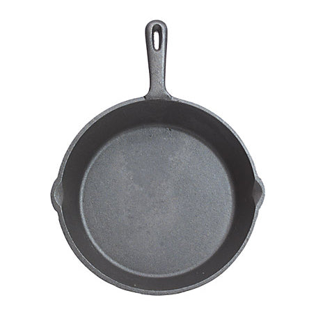 Clearview Deluxe Cast Iron Round Plain Grill Pan, 24cm/9.5""