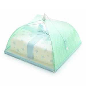 Green Polka Dot Umbrella Cake Cover, 30cm