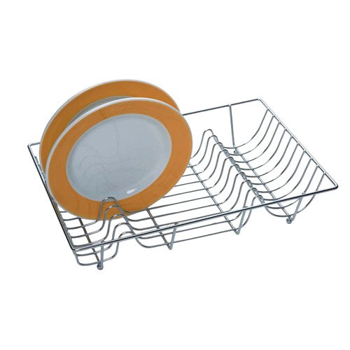Large Chrome Plated Wire Dish Drainer