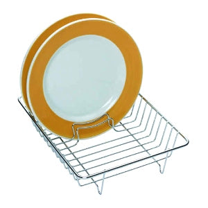 Deluxe Chrome Plated Dish Drainer, 31cm x 24cm
