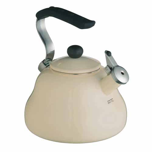 Le'Xpress Athena Whistling Kettle, 2 Litres, Cream