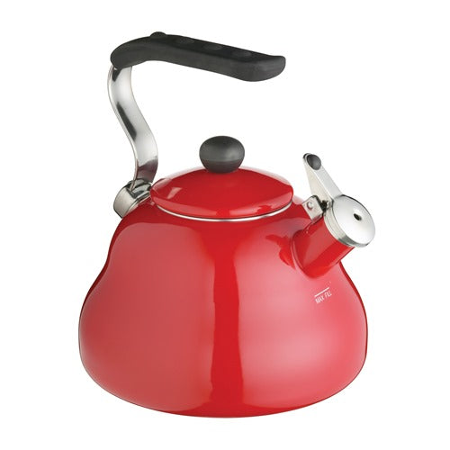 Le'Xpress Athena Whistling Kettle, 2 Litres, Red