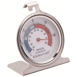 Kitchencraft Stainless Steel Fridge Thermometer
