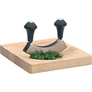 Stainless Steel Hachoir/Herb Cutter Set