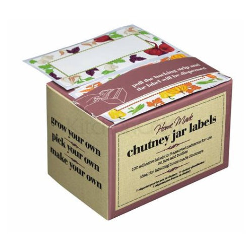 Chutney Jar Labels, Pack Of 100