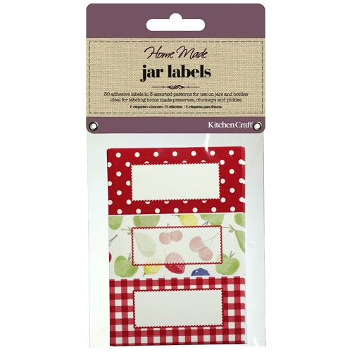 Self-Adhesive Jam Jar Labels, Orchard, Pack of 30
