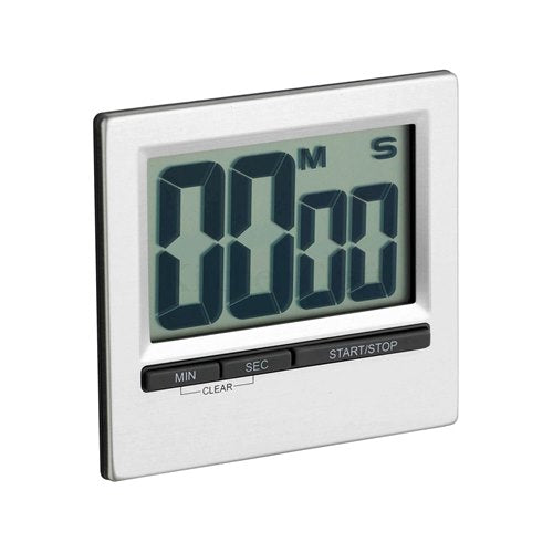 Kitchencraft Large Easy Read Chrome Timer