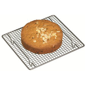 Kitchencraft Non-Stick Cake Cooling Rack Square, 26cm x 23cm