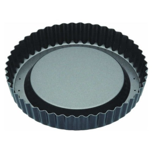 Masterclass Raised Fluted Flan Tin, Non-Stick, 20cm/8""