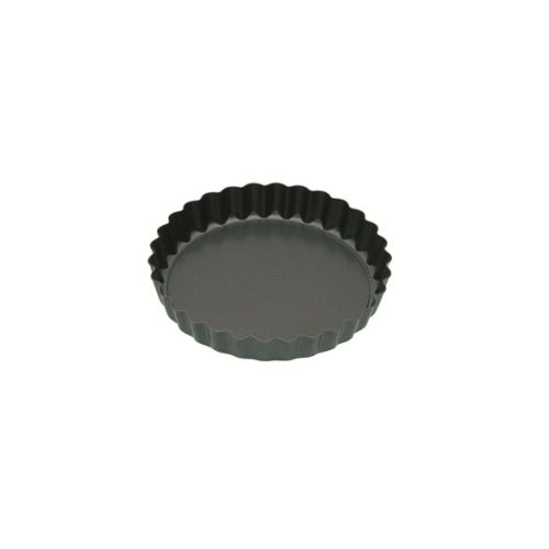 Kitchencraft Mini Fluted Tart Tin, Non-Stick, 10cm/4""