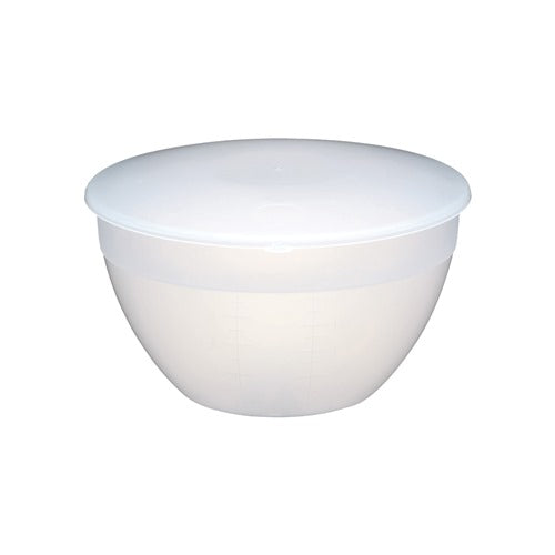 Kitchencraft Plastic Pudding Basin with Lid, 2 Pint/1.1l