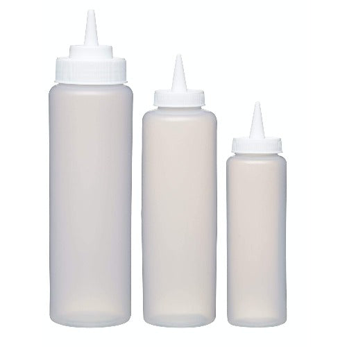 Easy Squeeze Sauce Dispensers, Set Of 3