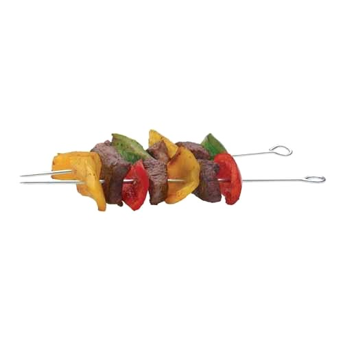 Assorted Sized Skewers, Pack Of 6