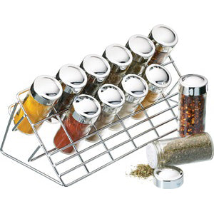 13 piece Herb & Spice Rack Set