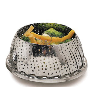 Kitchencraft Collapsible Steaming Basket Large