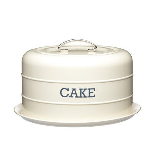 Living Nostalgia Domed Cake Tin, Antique Cream