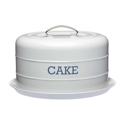 Living Nostalgia Domed Cake Tin, French Grey