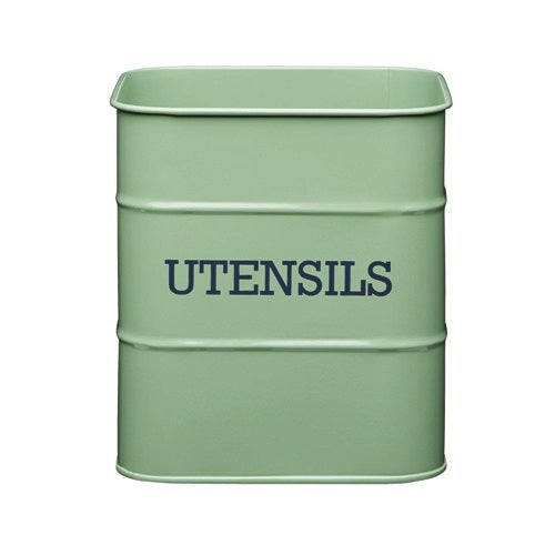 Living Nostalgia Utensil Pot, Sage Green