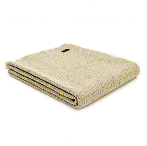 Tweedmill Lifestyle Luma Throw, Lemon