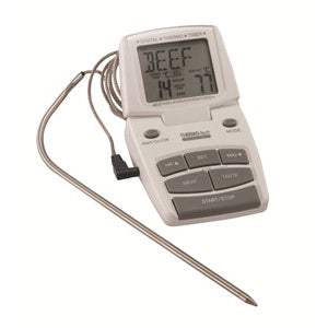 Digital Meat Thermometer & Timer