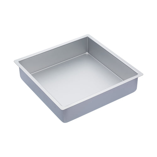 MasterClass Silver Anodised Square Deep Cake Pan, 30cm*