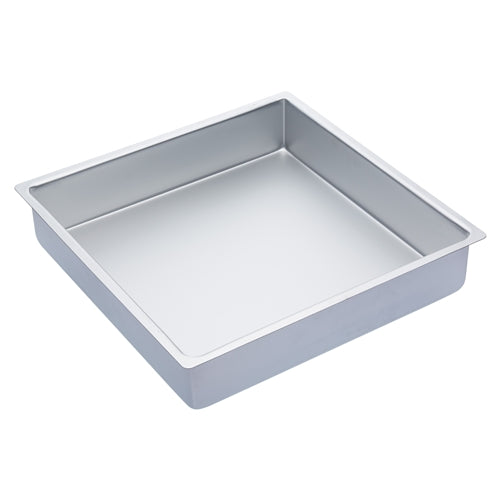 Master Class Silver Anodised Square Deep Cake Pan, 35cm/14""