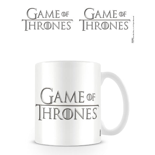 Game Of Thrones 'Logo' Mug, White