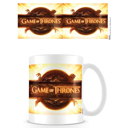 Game Of Thrones 'Opening Logo' Mug, White