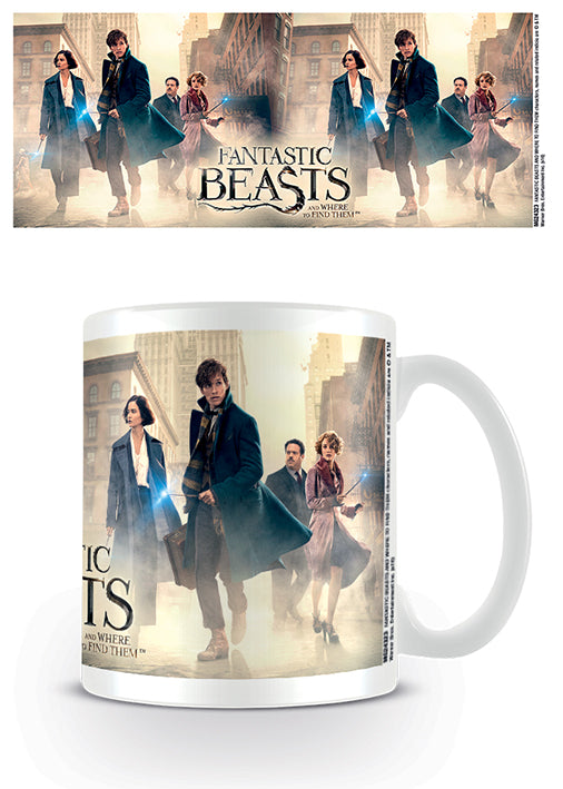 Fantastic Beasts (New York Streets) Mug