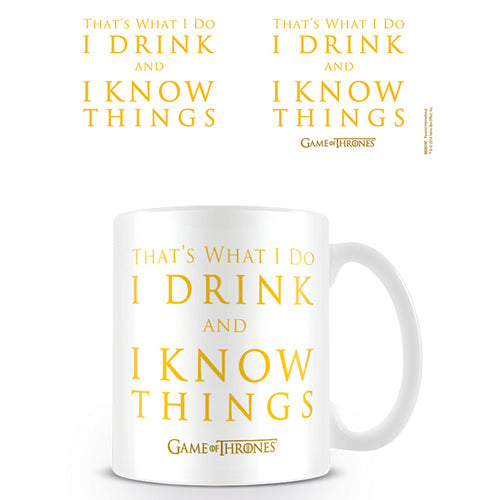 Game of Thrones (I Drink And I Know Things) Mug