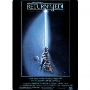 'Star Wars The Return Of The Jedi' Fridge Magnet