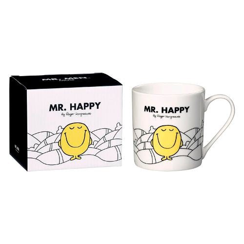'Mr Happy' Ceramic Mug