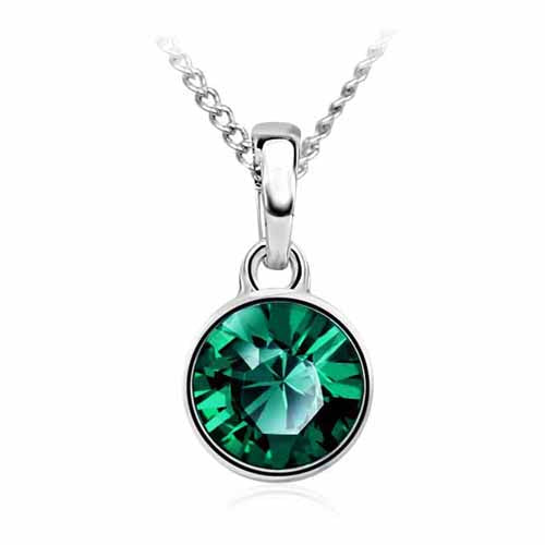 Swarovski Birthstone Pendant, May/Emerald