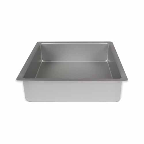 "PME Square Anodised Cake Tin, 8"" x 3"""